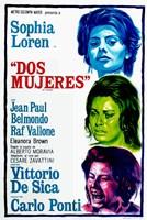 "Two Women Dos Mujeres Film Spanish - 11"" x 17"""