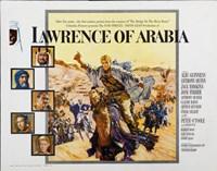 "Lawrence of Arabia Cast Horizontal - 17"" x 11"" - $15.49"