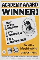 "To Kill a Mockingbird Academy Award - 11"" x 17"" - $15.49"