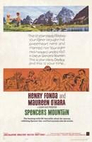 "Spencer's Mountain - 11"" x 17"""