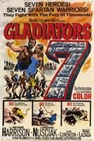 """Gladiators 7 - 11"""" x 17"""""""
