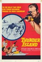 "Thunder Island - 11"" x 17"""