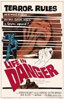 "Life in Danger - 11"" x 17"""