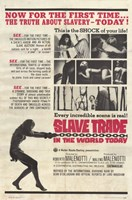 """Slave Trade in the World Today - 11"""" x 17"""""""