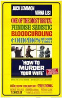"""How to Murder Your Wife - 11"""" x 17"""""""