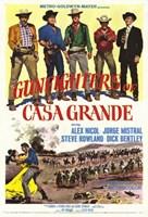 "Gunfighters of Casa Grande - 11"" x 17"", FulcrumGallery.com brand"