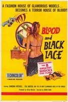 """Blood and Black Lace - 11"""" x 17"""""""