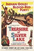 "Treasure of Silver Lake - 11"" x 17"" - $15.49"