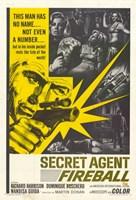 """Secret Agent Fireball - 11"""" x 17"""""""