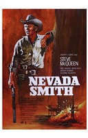 "Nevada Smith - Red - 11"" x 17"""