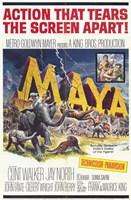 """Maya - 11"""" x 17"""""""