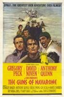 "Guns of Navarone - the greatest high adventure ever filmed - 11"" x 17"", FulcrumGallery.com brand"