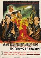 """Guns of Navarone - French - 11"""" x 17"""", FulcrumGallery.com brand"""