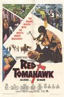 "Red Tomahawk - 11"" x 17"""