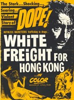 """White Freight for Hong Kong - 11"""" x 17"""""""