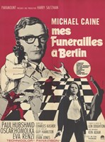 """Funeral in Berlin French - 11"""" x 17"""""""