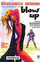 "Blow Up Vanessa Redgrave Michelangelo Antonioni - 11"" x 17"", FulcrumGallery.com brand"