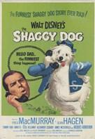 """Shaggy Dog Disney Movie - 11"""" x 17"""""""
