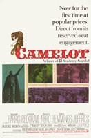 "Camelot Richard Harris - 11"" x 17"" - $15.49"