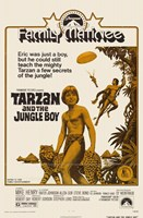 Tarzan and the Jungle Boy, c.1968 Wall Poster
