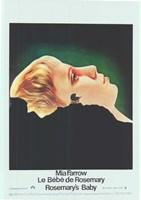 """Rosemary's Baby Mia Farrow French - 11"""" x 17"""""""