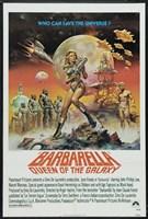 Barbarella Queen of the Galaxy Fine Art Print