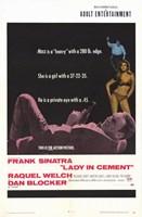 Lady In Cement Frank Sinatra Fine Art Print