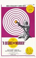 "A Degree of Murder - 11"" x 17"" - $15.49"