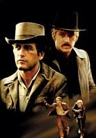"""Butch Cassidy and the Sundance Kid Cast - 11"""" x 17"""""""