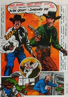 Butch Cassidy and the Sundance Kid Comic Fine Art Print