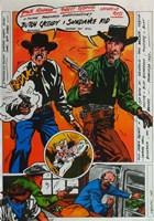"Butch Cassidy and the Sundance Kid Comic - 11"" x 17"""