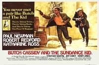 "Butch Cassidy and the Sundance Kid Horizontal - 17"" x 11"""