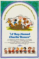 A Boy Named Charlie Brown Fine Art Print
