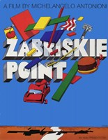 "Zabriskie Point By Michelangelo Antonioni - 11"" x 17"", FulcrumGallery.com brand"