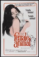"Female Animal - 11"" x 17"", FulcrumGallery.com brand"