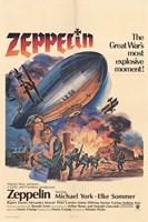 "Zeppelin - movie poster - 11"" x 17"", FulcrumGallery.com brand"