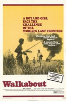 """Walkabout Movie Poster - 11"""" x 17"""""""