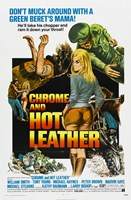 """Chrome and Hot Leather - 11"""" x 17"""""""