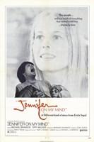 """Jennifer on My Mind - 11"""" x 17"""""""