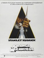 "A Clockwork Orange Triangle - 11"" x 17"""