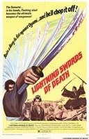 """Lightning Swords of Death - 11"""" x 17"""""""