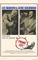 "Prime Cut: Lee Marvin And Gene Hackman - 11"" x 17"""