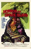 "Horror on Snape Island - 11"" x 17"""