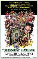 "Money Talks By Allen Funt - 11"" x 17"""