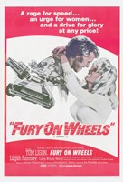 "Fury on Wheels - 11"" x 17"""
