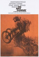 "On Any Sunday - Motorcycle rider - 11"" x 17"""