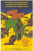 "Secret Africa - 11"" x 17"""
