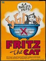 "Fritz the Cat - 11"" x 17"""