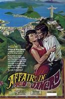 """Affaire in Rio de Janeiro - 11"""" x 17"""" - $15.49"""
