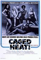 "Caged Heat - 11"" x 17"" - $15.49"
